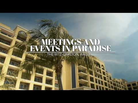 Meetings and Events in Paradise at The Ritz-Carlton, Aruba