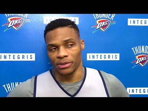 connectYoutube - Russell Westbrook Interview After Practice