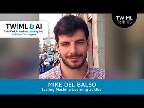 Mike Del Balso Interview - Machine Learning Platforms at Uber with Mike Del Balso