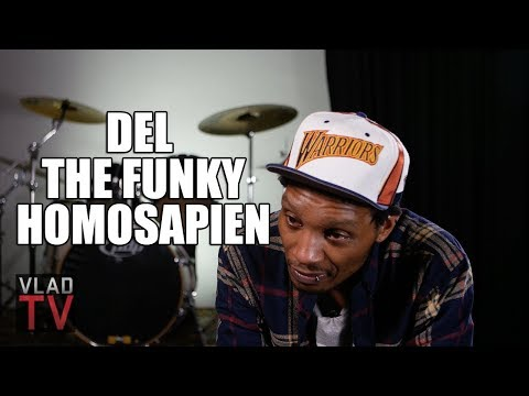 connectYoutube - Del the Funky Homosapien on Not Wanting to Do Gorillaz