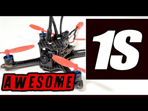 1S BRUSHLESS POWER! - Aurora RC A100 with OSD   REVIEW, Flights, Mods, Pros & Cons