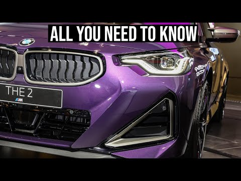 2022 BMW 2 Series Coupe and M240i | All The Details in 4K