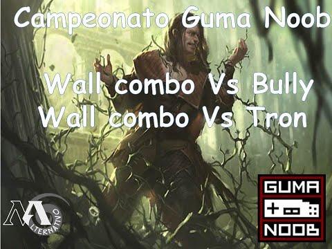 Gameplay Wall combo Vs Boror Bullu e tron campeonato do guma