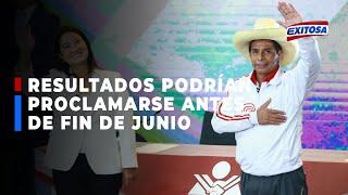 ????????Elecciones 2021 | José Tello: Resultados oficiales podrían proclamarse antes de fin de junio