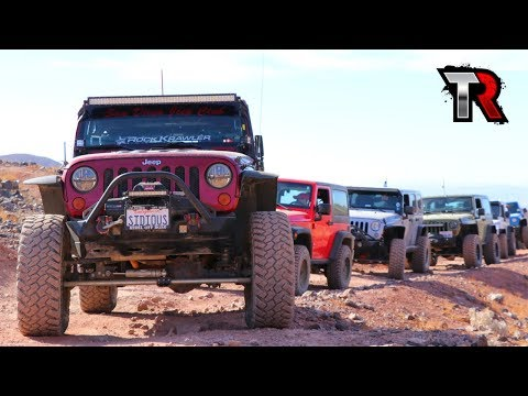 Calico Mountains Jeep Adventure Weekend - Day 1