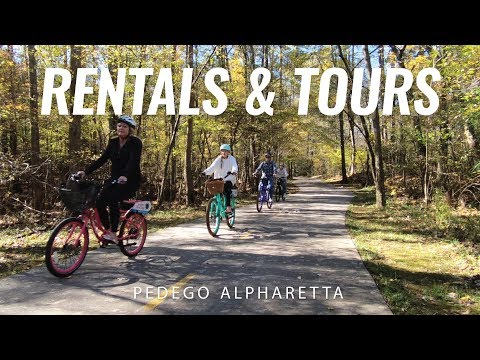 Electric Bike Rentals and Tours | Alpharetta, Georgia | Pedego Alpharetta