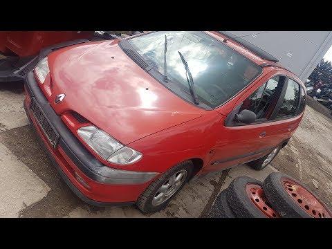Renault Scenic 1998 m dalys