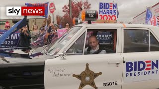 US Election 2020: Trump supporters show Biden winning Pennsylvania won't be as easy as polls say