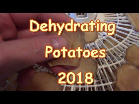 Dehydrating Potatoes 2018