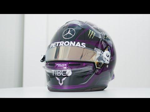 Revealed! Lewis? 2020 F1 Helmet!
