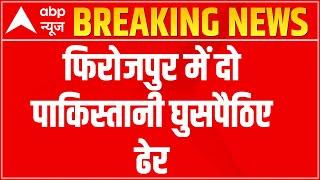 Two Pakistan intruders shot dead by BSF in Punjab's Ferozepur - ABPNEWSTV