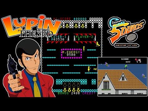 "LUPIN III - ""CON 5 DUROS"" Episodio 903 (+Lupin Sansei – Pandora no Isa / NES) (1cc) (2 loops)"
