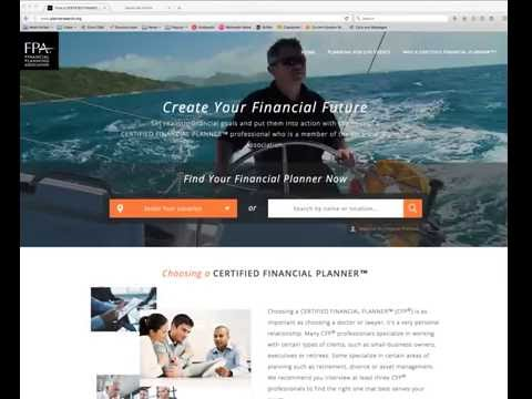 FPA PlannerSearch® Overview