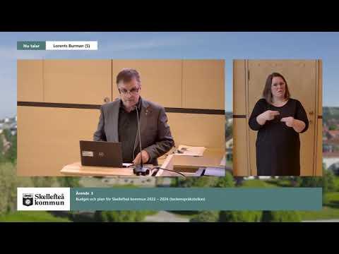 Sammandrag Skellefteå kommunfullmäktige 2021-10-12