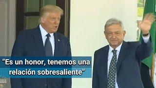 Frases clave en el mensaje conjunto de AMLO y Donald Trump