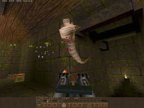 Quake (Episode 1: Dimension of the Doomed) (id Software) (MS-DOS) [1996]