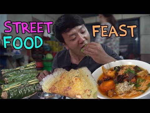 connectYoutube - Traditional Vietnam Street Food FEAST in Saigon: SIXTEEN DESSERTS!
