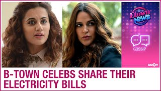 Bollywood celebrities share their electricity bills on social media as they get shocked - ZOOMDEKHO