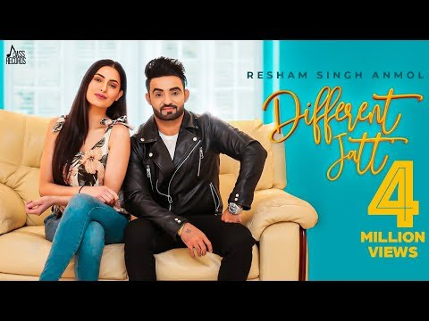 Resham Singh Anmol-Different Jatt Mp3 Song Download And Video