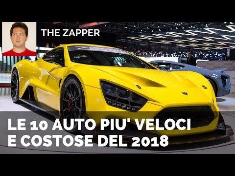 Le 10 AUTO più Veloci e costose del 2018 | The Zapper