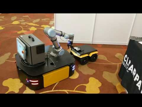 Autonomous mobile manipulation pick & place demo  (ICRA 2017)