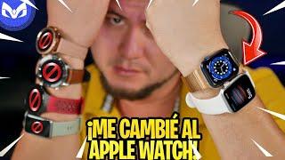 EX-FANBOY REGRESA AL APPLE WATCH 6 AÑOS DESPUES!!!!!!!