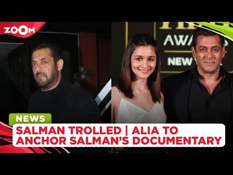 Salman Khan trolled for partying amid Aryan Khan's case | Alia Bhatt to anchor Salman's documentary