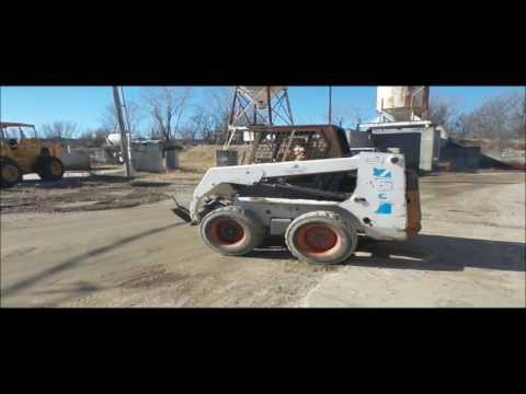 1995 Bobcat 763 skid steer for sale | no-reserve Internet auction March 2, 2017