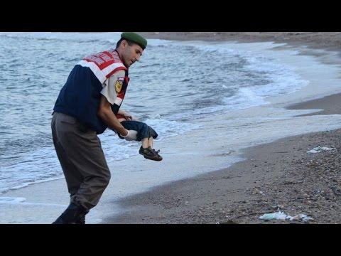Bild von totem Flüchtlingskind erschüttert Europa