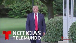 Eliminan a Trump de la escena de una película   Noticias Telemundo