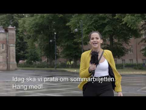 Skånetrafiken presenterar: Suuz välkomnar den svenska sommaren
