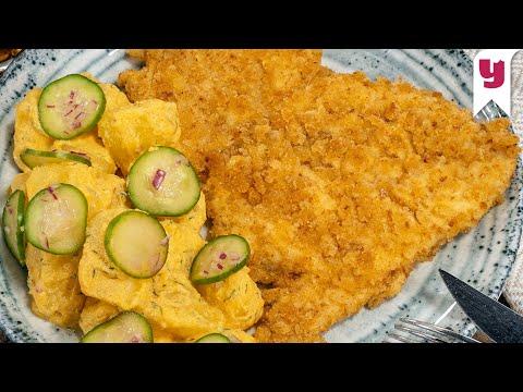Evde Kendi Restoranınızı Açın: Taze Ekmek Çıtırlığında Şinitzel ve Efsane Patates Salatası Tarifi
