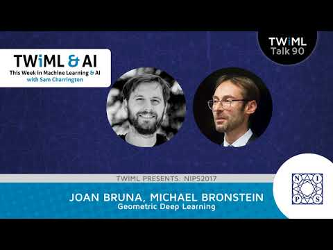 Joan Bruna & Michael Bronstein Interview - Geometric Deep Learning