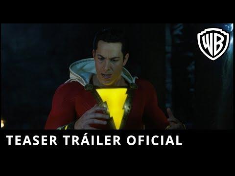 ¡Shazam! - Teaser Tráiler Oficial