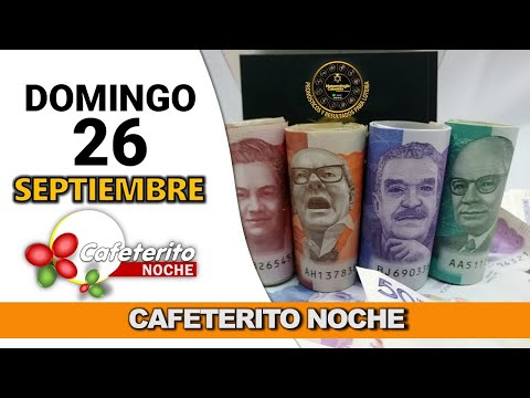 Resultado CAFETERITO NOCHE del domingo 26 de septiembre de 2021