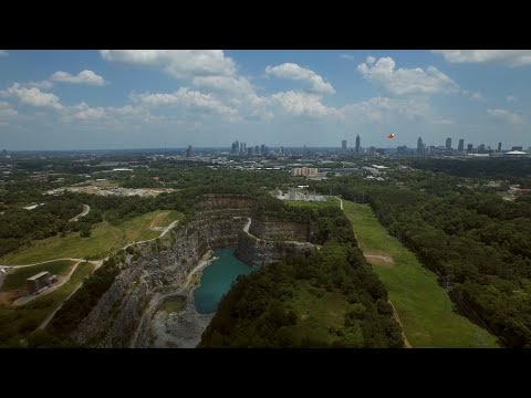 West Side Park and Water Reservoir in Atlanta, USA