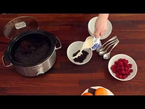 Delicious Chocolate Volcano Pudding Crockpot Recipe | Crocktober | ao.com