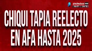 Chiqui Tapia reelecto en AFA hasta 2025