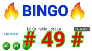 BINGO hoy....!! (( 49 )) NÚMEROS GANADORES/ loteria LOTEKA/ RESULTADOS de las LOTERÍAS/SORTEOS HOY