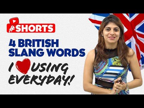 British Slang Word I ❤️  Using The Most! Speak Smart English #shorts #youtubeshorts #Niharika