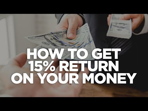 How to Get 15% Return on Your Money - Real Estate investing Made Simple photo