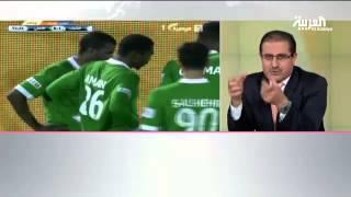 فيديو:حديث الدكتور سالم الزهراني عن إصابة نايف هزازي