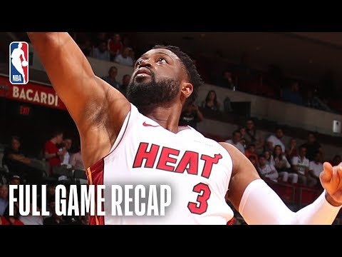 PISTONS vs HEAT | Miami Turns It Up In The 2nd Half | March 13, 2019