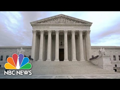 How Controversial Supreme Court Nominations Have Played Out In The Past NBC News NOW