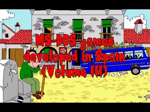 MS-DOS Games Developed in Spain (Volume III)