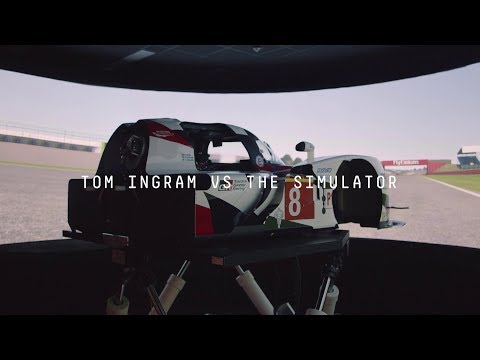 Tom Ingram Takes on the Ultimate Racing Simulator