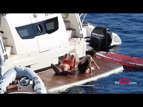 İki kez mide ameliyatı olan Deniz Seki sevgilisiyle teknede spor yaparsa...