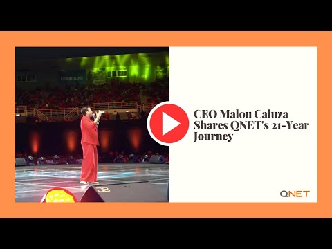 CEO Malou Caluza Shares QNET's 21-Year Journey