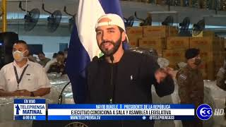 #Teleprensa33 | Bukele anuncia que solicitará cuarentena más estricta