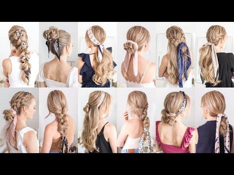 12 ✨NEW HAIR SCARF HAIRSTYLES | Missy Sue